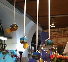 Presents Gifts & Fancy Goods Glass Spheres GENOA´S PLACES  Blumen